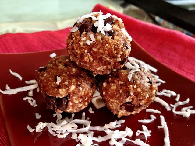 homemade coconut joy larabar bites | NOMS | Pinterest