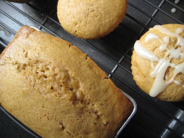 ... Pumpkin Muffins. These muffins are very moist and very very addicting