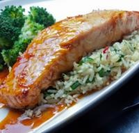 True Orange Ginger Miso-Glazed Salmon | Main Course: Fish & Seafood ...