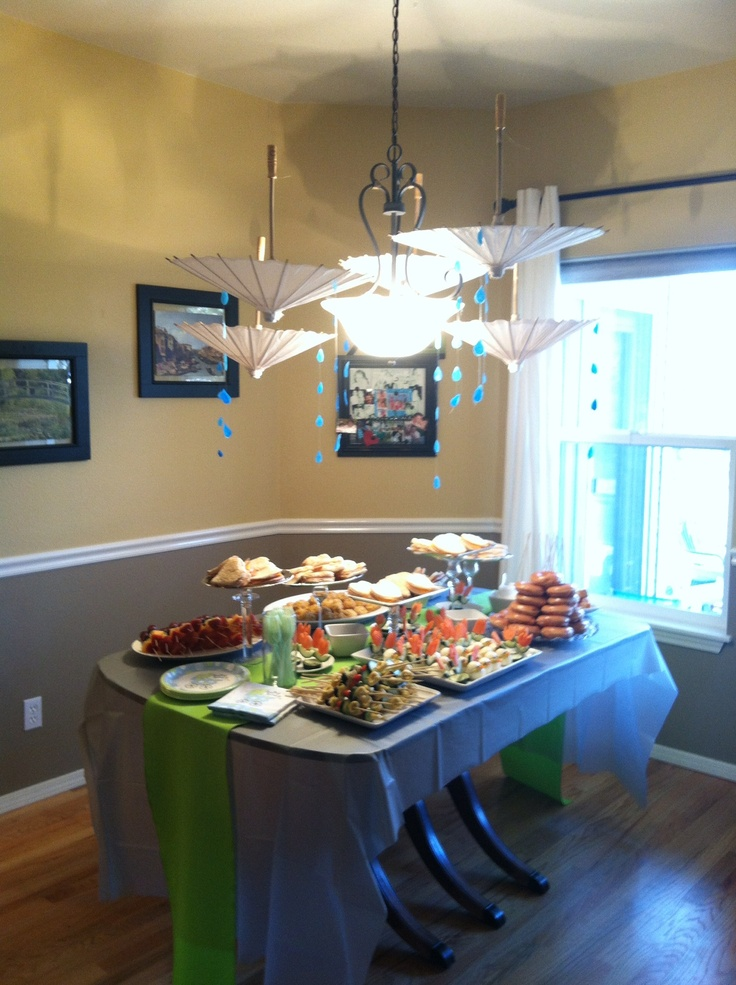 Baby Shower Buffet Table Party Ideas Pinterest