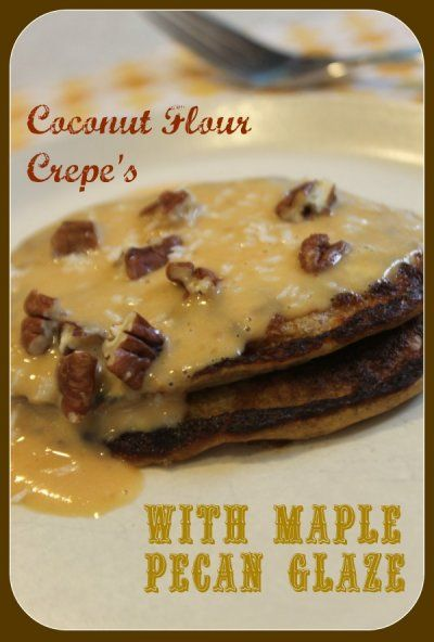 ... Maple Pecan Glaze - Candida Diet Friendly with maple pecan butter