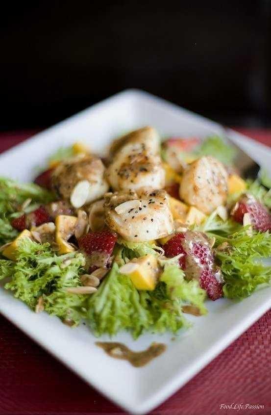 Citrus Scallop Summer Salad Recipes — Dishmaps