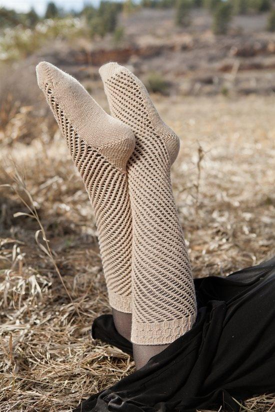 Knitting Daily : Marion Socks - Knitting Daily On The Make Pinterest