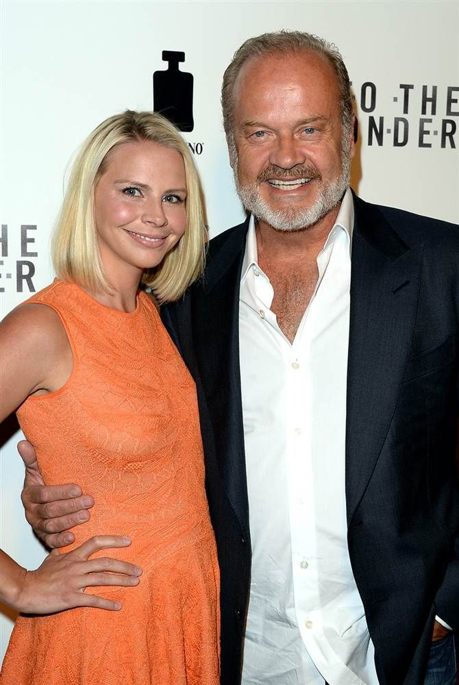 kelsey grammer and wife kayte walsh people pinterest