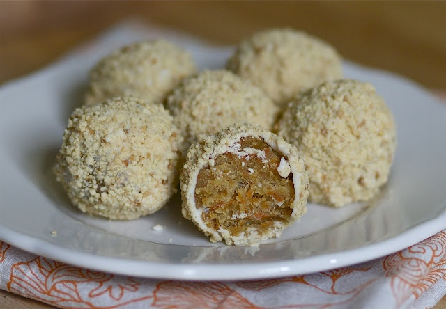 carrot cake truffles Best friend sent me this recipe as part of a ...
