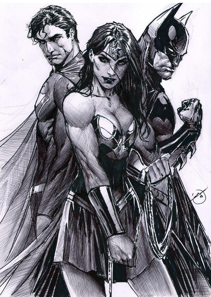 DC Trinity | Wonder Woman | Pinterest