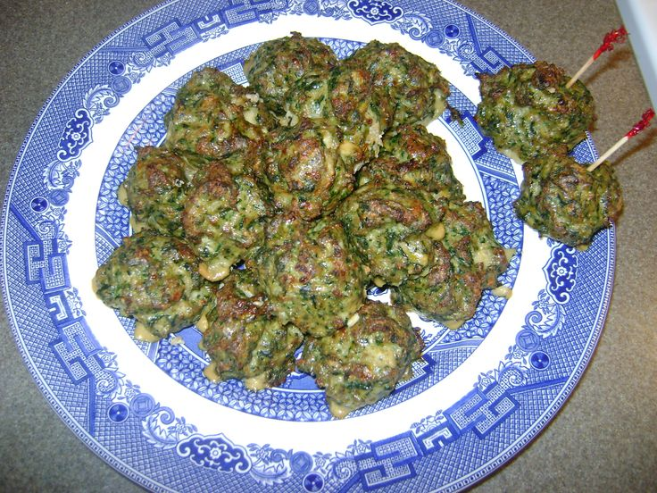 italian sausage spinach meatballs I make my own italian sausage with ...