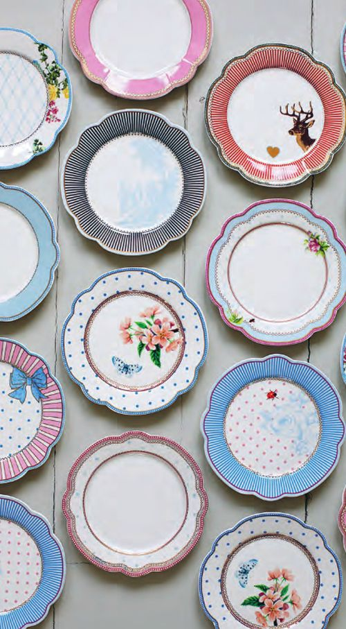 New plates from Lisbeth Dahl