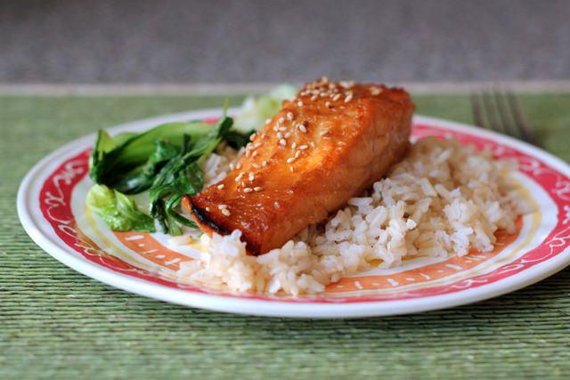 Miso Glazed Salmon | Food ideas | Pinterest