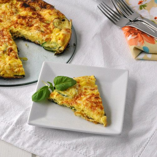 Zucchini Frittata: Breakfast for dinner has never looked so good ...