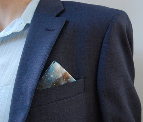 Galaxy Pocket Square