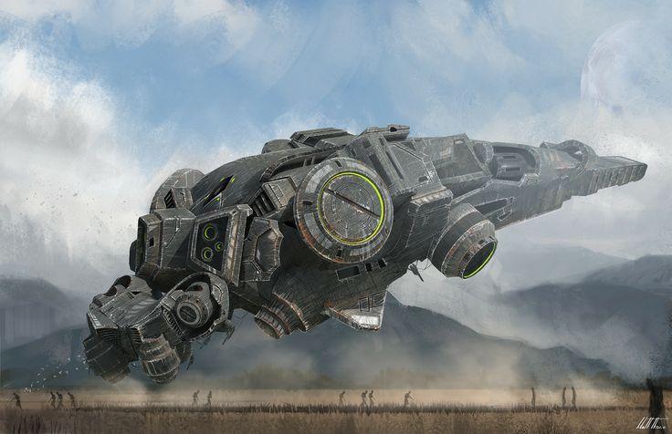 Sci-Fi Vehicle, 'Drops...