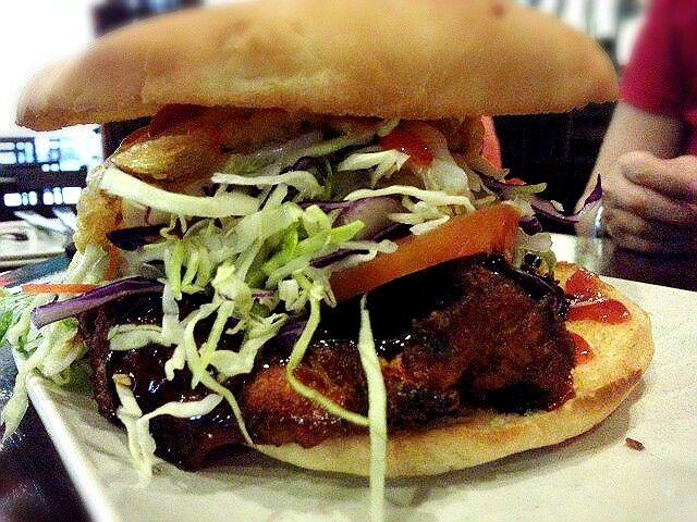 monster burger | Yummy food from Kuching, Sarawak, Malaysia | Pintere ...