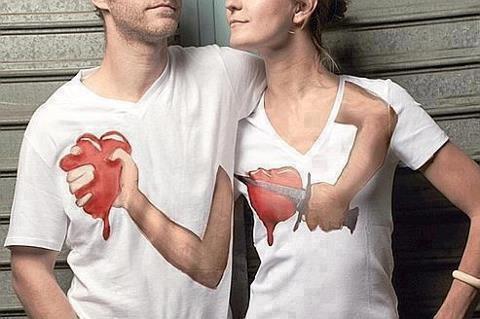 Cute Couple Shirt Designs
