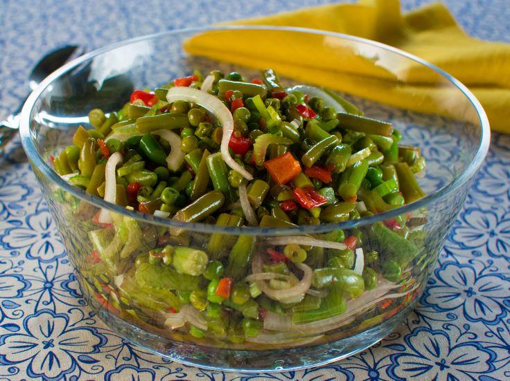Marinated Vegetable Salad Recipe — Dishmaps