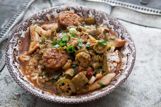 Chicken Gumbo with Andouille Sausage | Soups, Stews and Chowders | Pi ...