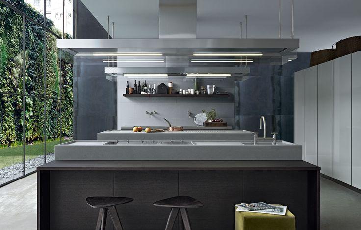 Minimal kitchen by varenna poliform interiors pinterest for Poliform kitchen designs