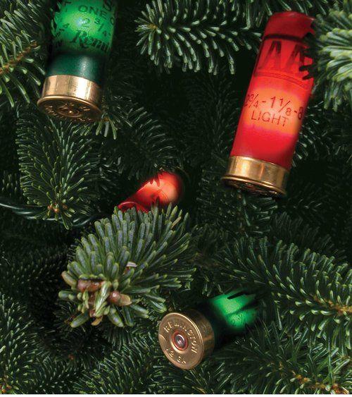 Redneck Shotgun Shell Christmas Lights