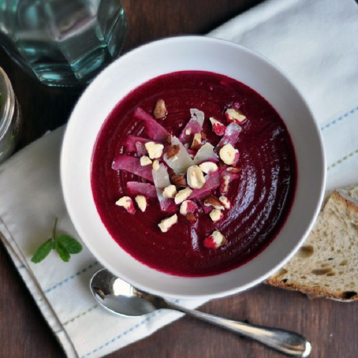 roasted beet soup with fennel and orange recipe yummly roasted beet ...