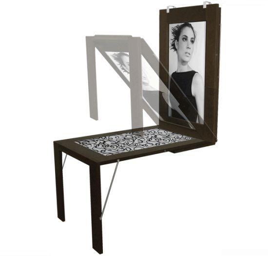 Helt sikkert det her bord jeg skal have her i mit hobbyrum... Bord nr det skal bruges og billedramme nr det hnger p vggen
