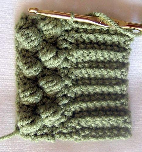 Crochet Ribbing : Making Crochet Sweater Ribbing Trico e croche Pinterest