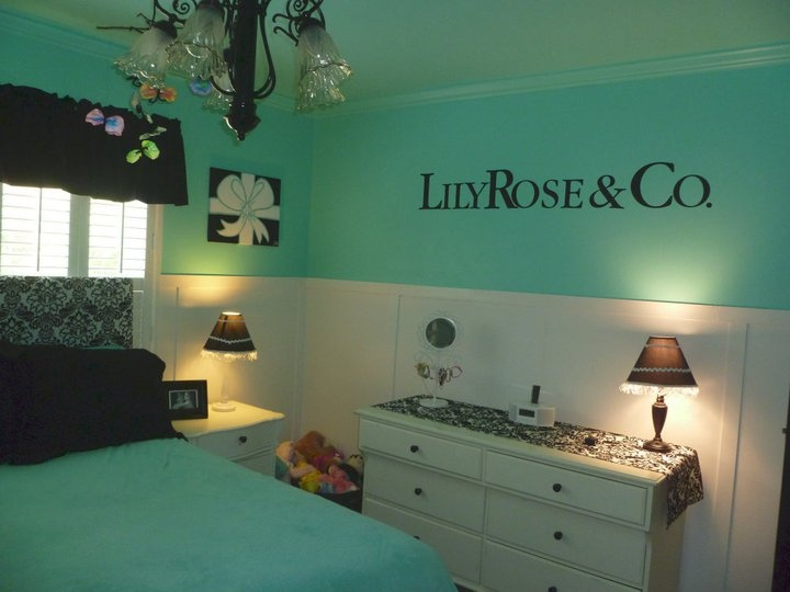 Tiffany Co Inspired Bedroom Tiffany Blue Girl 39 S