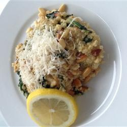 Cheesy Quinoa Pilaf with Spinach Recipe - Allrecipes.com
