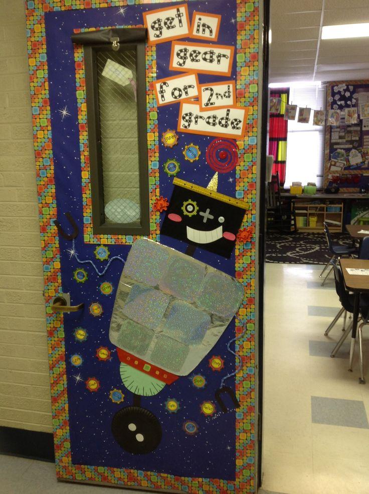 Robot Classroom Decoration Ideas ~ Classroom door decorations testing