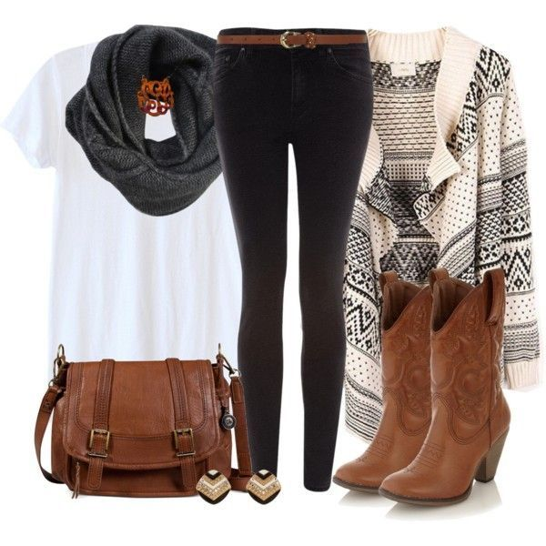 Simple cowboy outfit for women