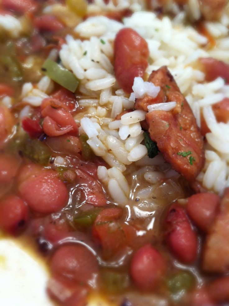 Red Beans and Rice | Main Dishes & Casseroles | Pinterest