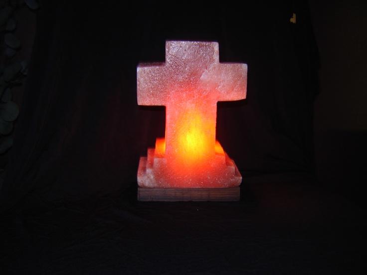 Himalayan Salt Lamps Cross : salt lamp cross Salt Lamps Pinterest