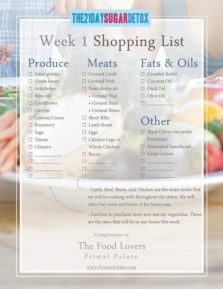 21 day sugar detox | Health and Fitness Stuff | Pinterest