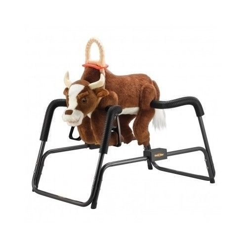 Rodeo Toys  Big Country Bouncy Bull amp NFR Bucking Chute NFR Commercial