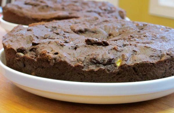 gluten-free chocolate layer cake | Healthy Valentine's Day Treats | P ...
