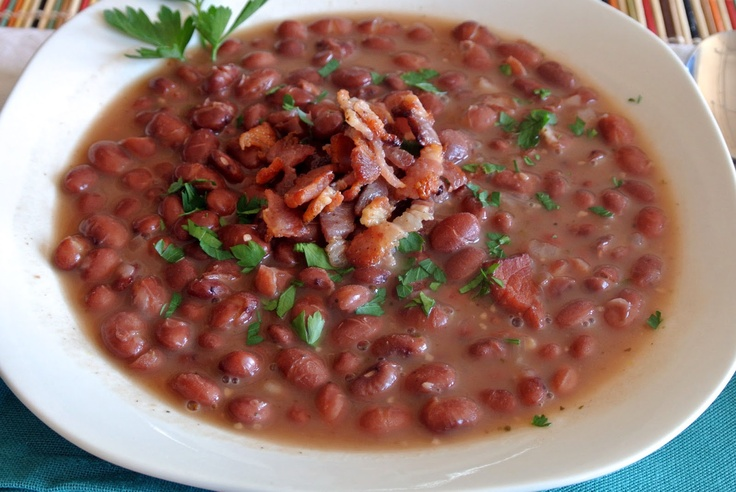 Bean and Bacon Soup | Food - Soup:Peas / Beans | Pinterest