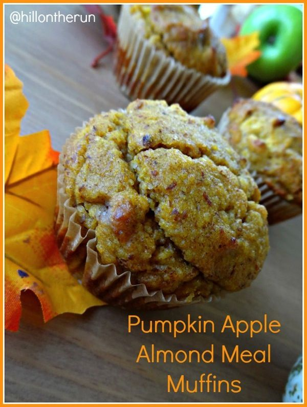 Pumpkin Apple Almond Meal Muffins | brownies.cupcakes.muffins | Pinte ...