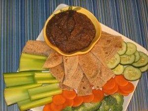 ... Healthy Vegan Bean Dip (the cumin hides the spinach in the recipe