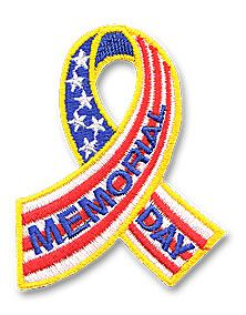 ribbon for memorial day