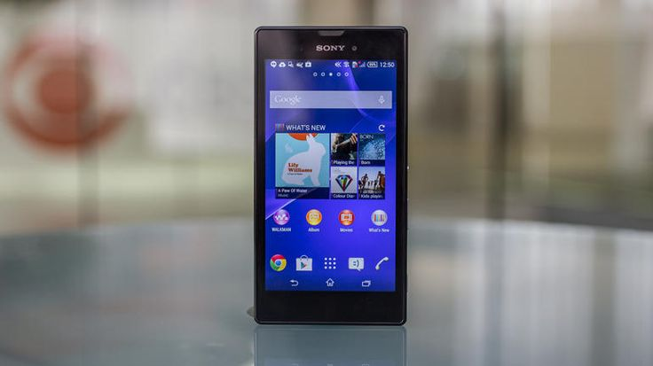 Sony Xperia T3  Sleek  attractive Sony Android phone with a big screenXperia T3 Black