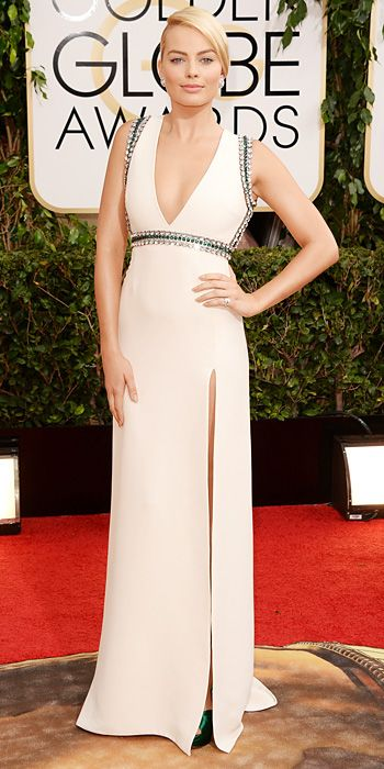 Red Carpet Arrivals - Margot Robbie from #InStyle