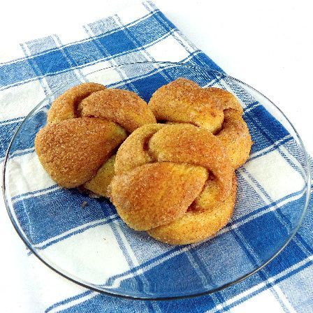 Cinnamon Love Knots...from the kitchen of One Perfect Bite courtesy of ...
