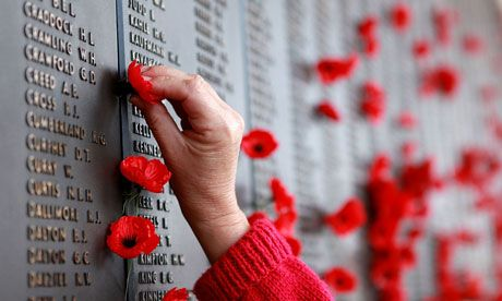 remembrance day across canada