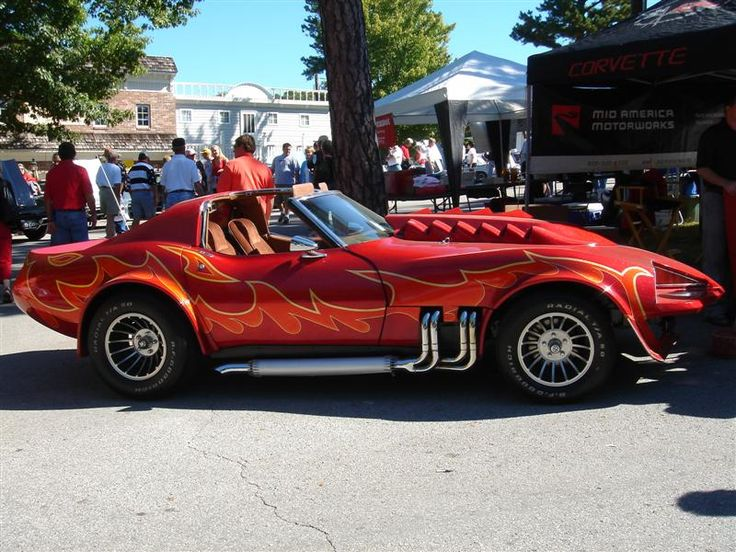 Found on forums corvetteforum comCorvette Summer Van