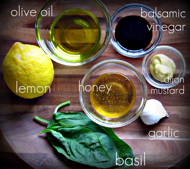 How to make salad dressing with balsamic vinegar & honey