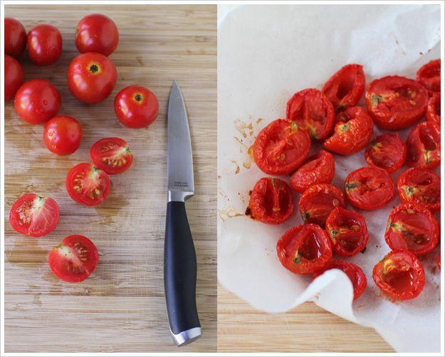 Oven Dried Tomatoes | EATIN Just Veggies | Pinterest
