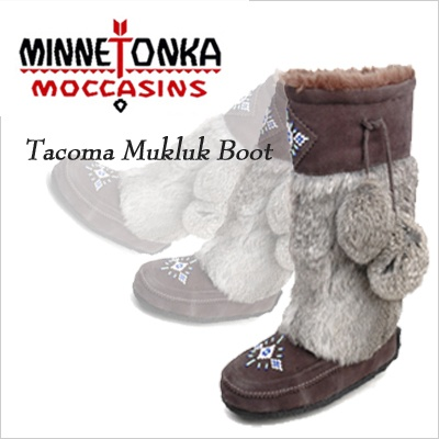 A Substitute for Ugly Uggs- Minnetonka Tacoma Mukluks! Can't tell you how many compliments you will get wearing these...even from guys!