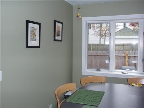 Nantucket Gray for dining room