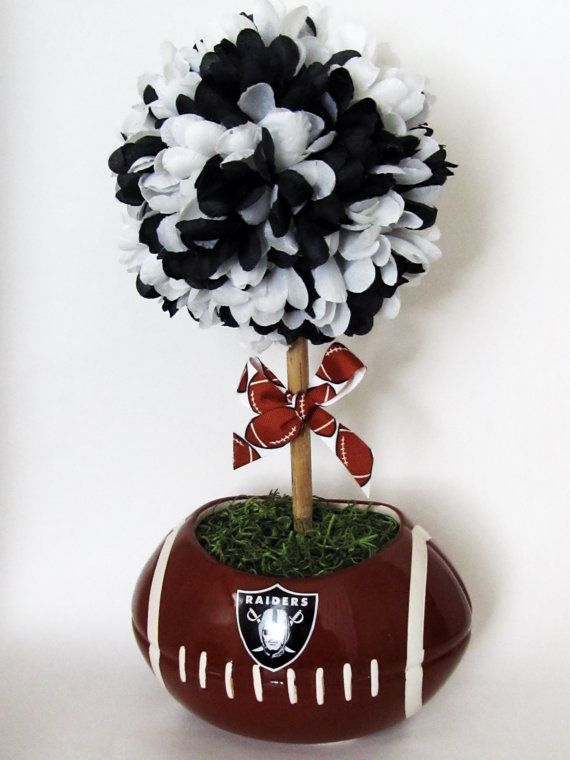 baby football topiary baby shower gift table by violetcreationz 35