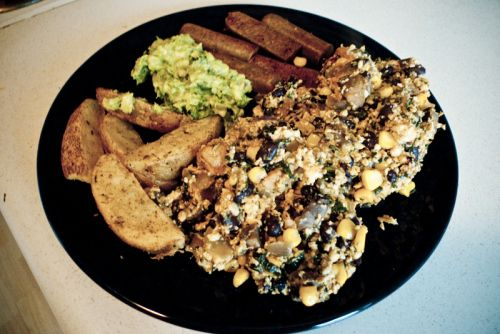 Billy's Southwestern Tofu Scramble! | Vegan Eats