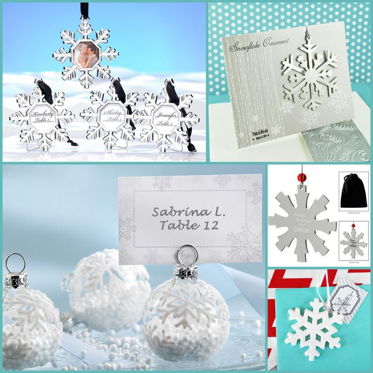 Snowflake Ornaments for Holiday Party from hotref.com